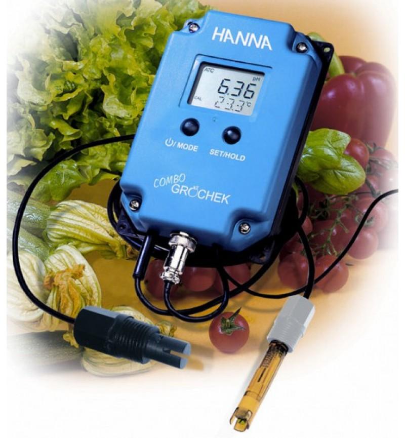 Αγωγιμόμετρο(EC)-Πεχάμετρο(pH) Ροής HI991405 HANNA